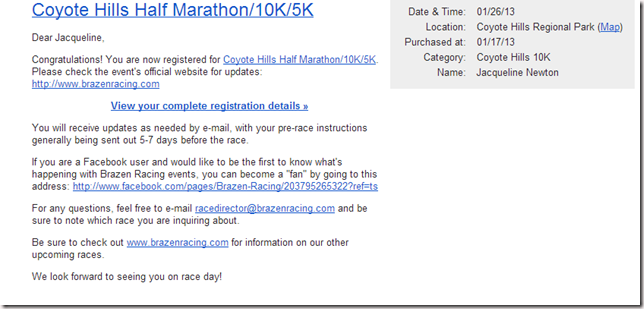 Registration Confirmation   skinnychickblog gmail.com   Gmail